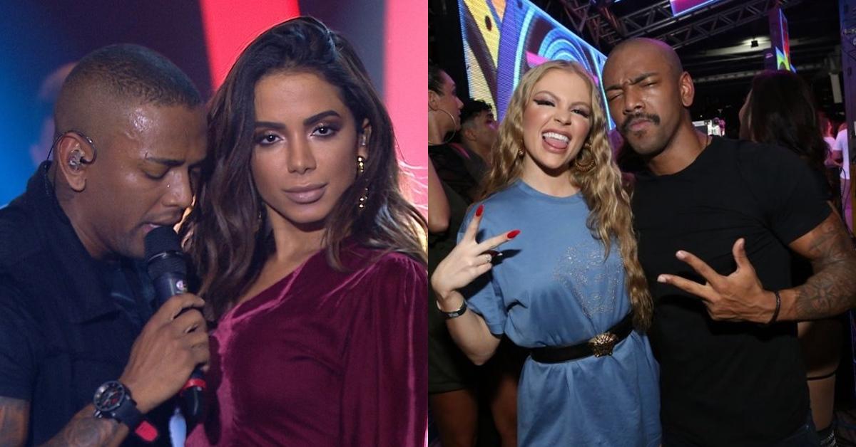 Anitta não aceita convite para DVD de Nego do Borel e Luísa Sonza volta atrás