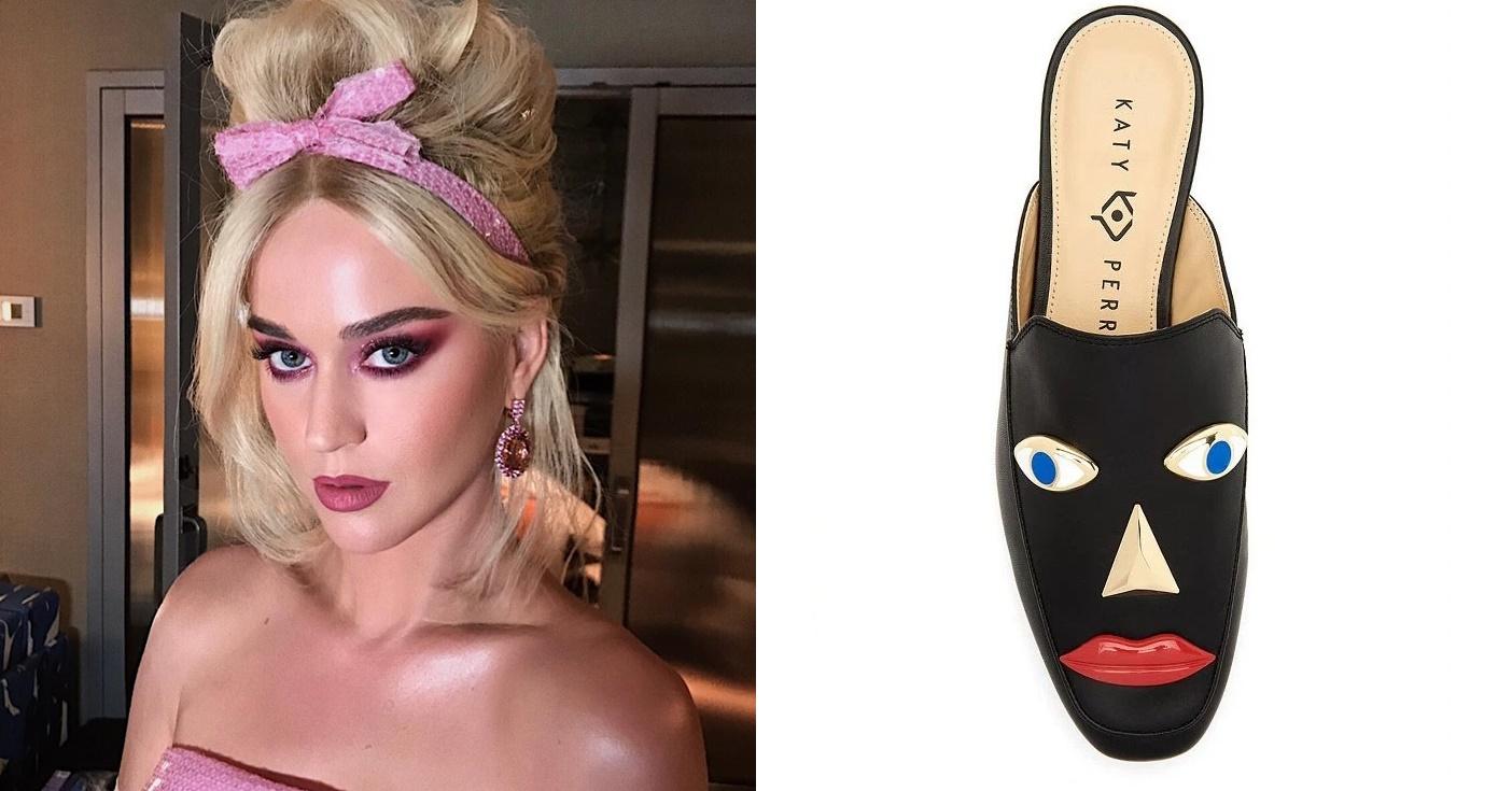 Sapatos de Katy Perry geram polêmica após acusação de blackface