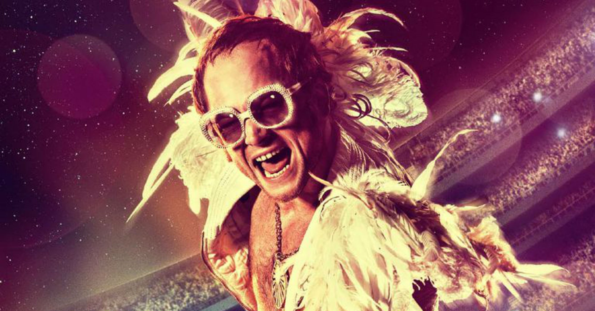 Três canais de TV exibem especial de Rocketman, filme de Elton John