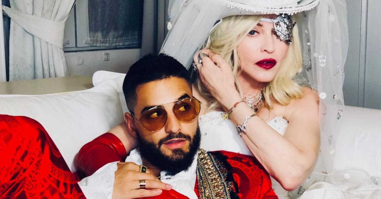 Madonna e Maluma lançarão clipe de 'Medellin' pela MTV com live e bate-papo com fãs