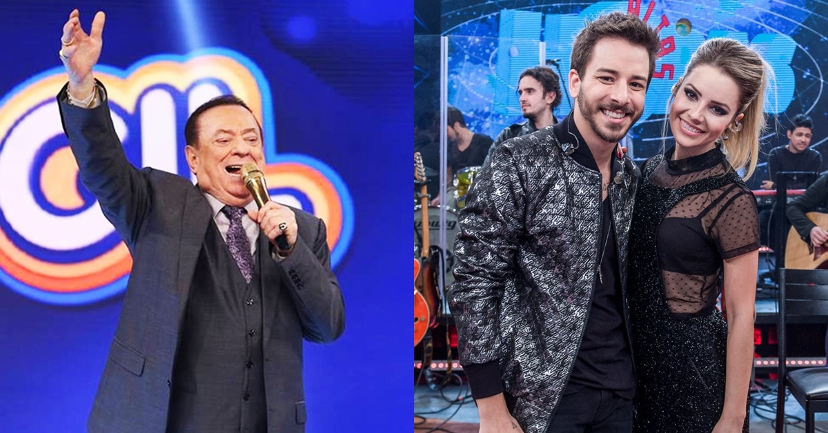 Raul Gil promove concurso de covers de Sandy e Junior no SBT; assista