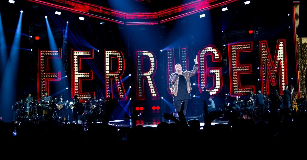 Com várias participações, Ferrugem lança novo DVD na web e nas lojas