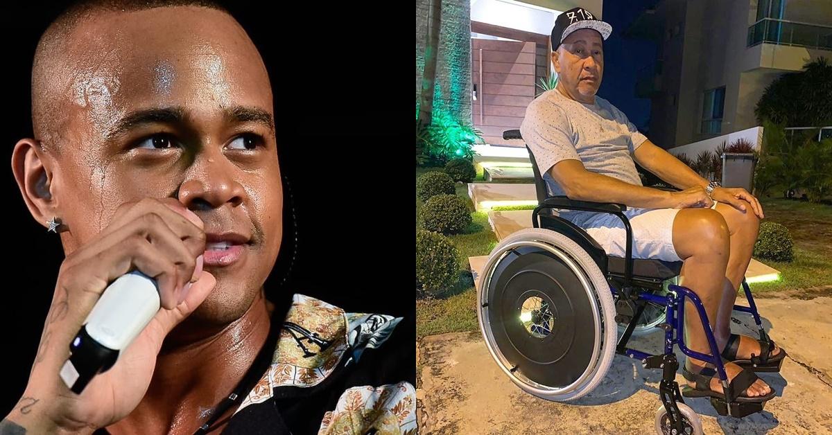 Léo Santana é criticado por comprar cadeira de rodas 'barata' para o pai