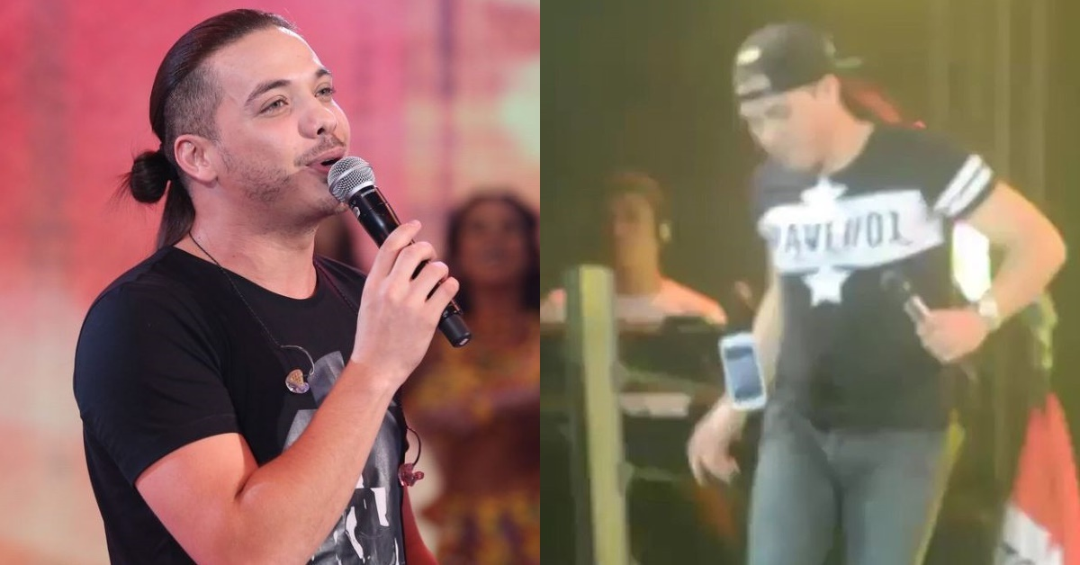Wesley Safadão posta vídeo antigo fazendo embaixadinha com celular de fã