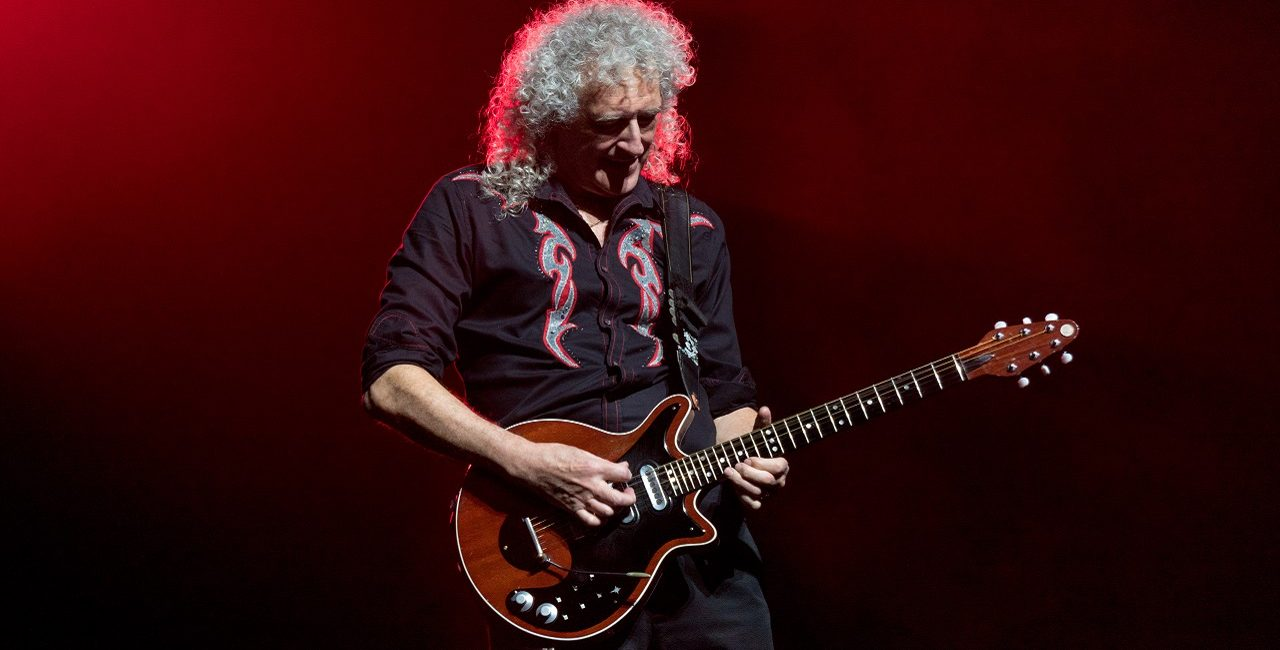 queen brian may red special