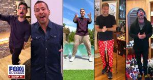 Backstreet Boys cantam 'juntos e separados' em prol da quarentena e vídeo viraliza