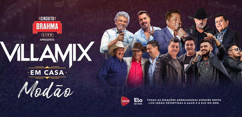 VillaMix Modão: astros do sertanejo cantam em live no domingo, 7 ...