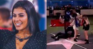 'BBB 21': Pocah desmaia durante a festa da líder e Globo corta transmissão