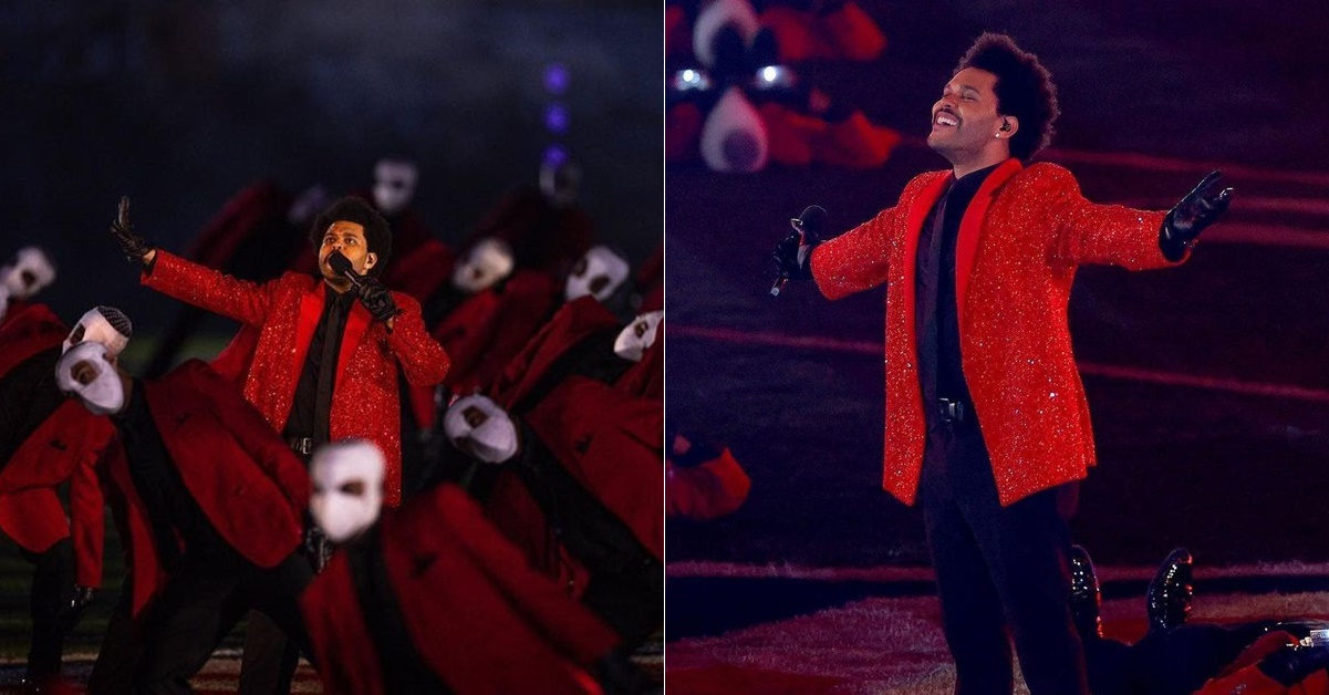 the weeknd show completo super bowl