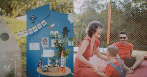Filho de Junior Lima completa 4 anos com festa de tema inusitado e hilário