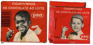 Cigarrinho de Chocolate