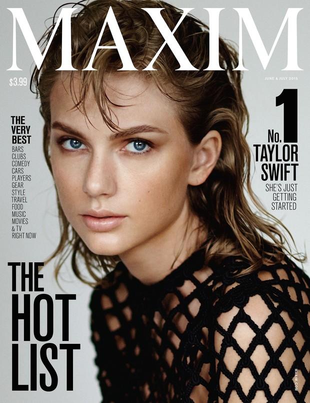 Taylor Swift é eleita a mulher mais sensual do mundo por revista