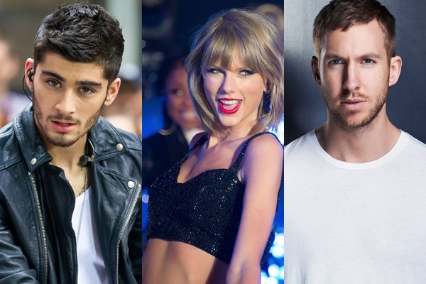 Zayn Malik e Calvin Harris discutem no Twitter por causa de Taylor Swift