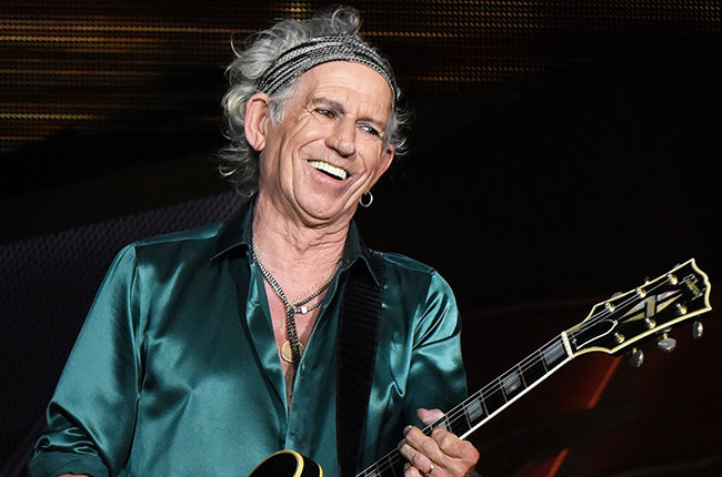 Richards também disparou contra Taylor Swift e Mick Jagger (Getty Images)