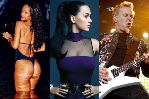Artistas estão entre atrações principais do Rock In Rio 2015 (Divulgação)