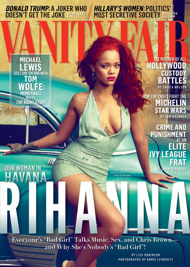 Em revista, cantora disse ter pensado que poderia mudar Chris Brown (Divulgação)