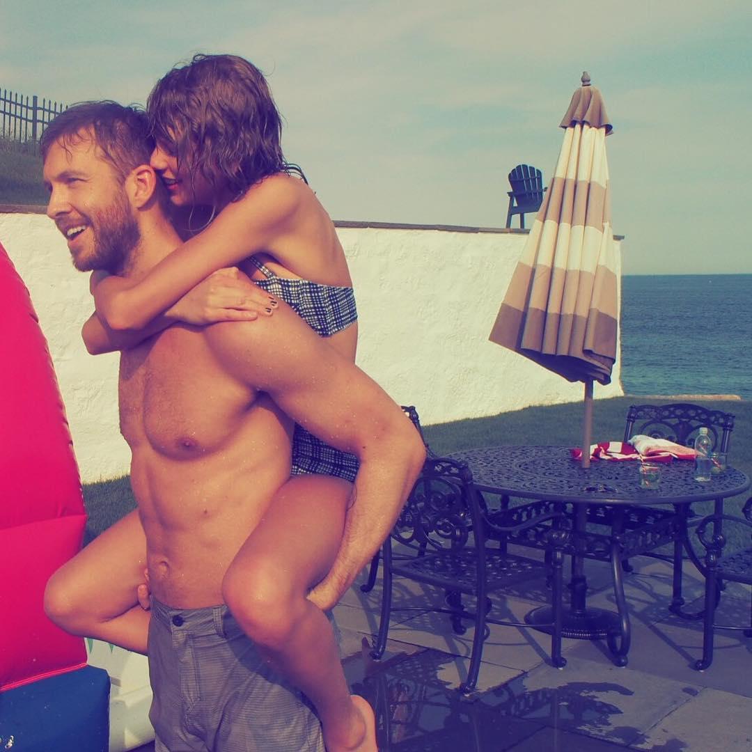 Foto de Taylor Swift com Calvin Harris está na lista (Reprodução/Instagram)