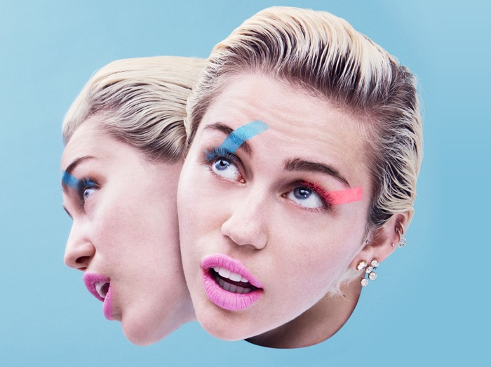 Excesso de intimidade reflete amizade de Miley Cyrus e Wayne Coyne (Divulgação)