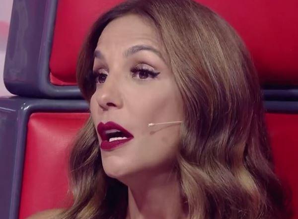 Cantora quebrou protocolo de programa da TV Globo (Reprodução/Gshow)