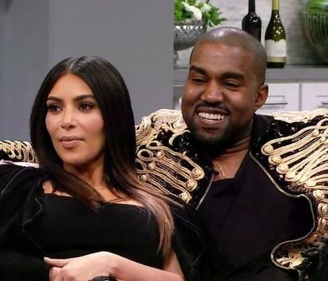 Declaração foi feita ao lado da esposa, Kim Kardashian (Divulgação)