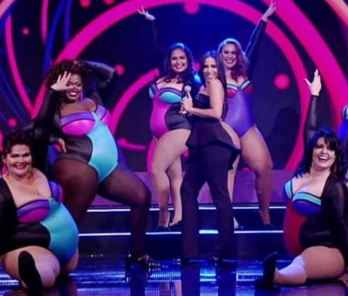 Assista à performance em um dos players desta publicação (Reprodução/TV Globo)