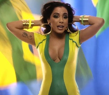 Rumores já davam conta de que Anitta cantaria no evento (Reprodução/YouTube)