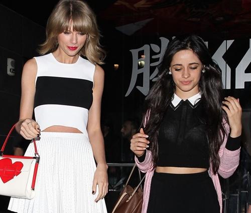 Taylor Swift é amiga pessoal de Camila Cabello (Reprodução/Instagram)
