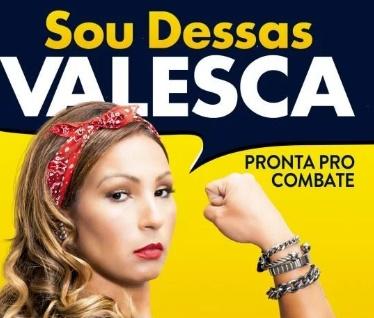 Biografia de Valesca será lançada na Bienal do Livro, em São Paulo (Divulgação)