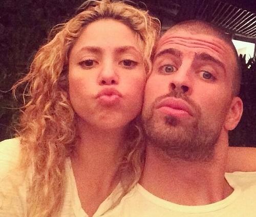 'Agora estamos juntos há seis anos', diz Piqué (Reprodução/Instagram)