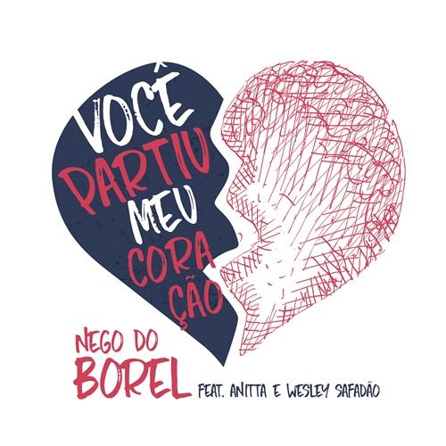Capa do single 'Você partiu meu coração' (Divulgação)