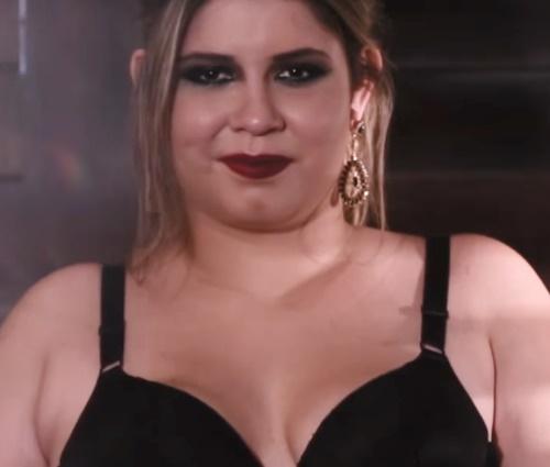 Marília foi inspiração para a linha de roupas íntimas'Melodia' (Repr./YouTube)