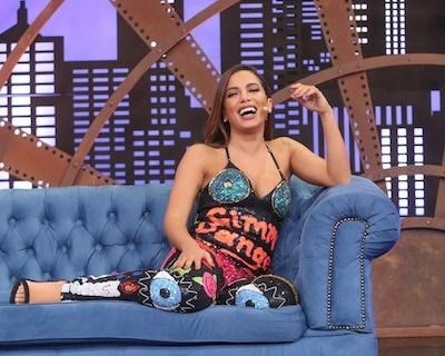 'Sempre fui religiosa, mas sempre adorei curtir e dançar', diz Anitta (Divulg.)