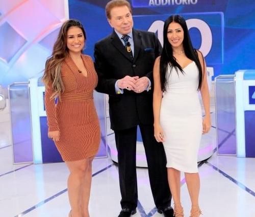 'Coleguinhas' participaram do'Programa Silvio Santos' (SBT/Divulgação)
