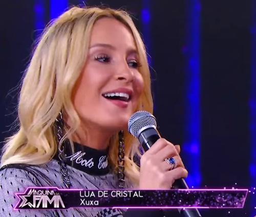 Claudia Leitte cantou trecho de 'Lua de Cristal' (Reprodução/YouTube)