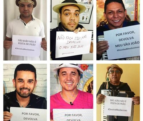 Campanha #DevolvaMeuSaoJoao foi lançada nas redes sociais (Reprodução/Facebook)