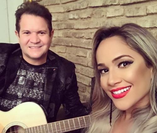 Ximbinha, agora, trabalha com a cantora Michele Andrade (Reprodução/Instagram)