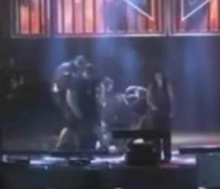 Confusão aconteceu durante show em Amargosa, na Bahia (Reprodução)
