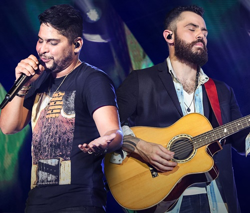 Dupla Jorge e Mateus lidera ranking de altos cachês (Divulgação)