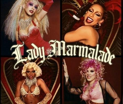 Cantoras estavam brigadas desde gravações de'Lady Marmalade' (Divulgação)