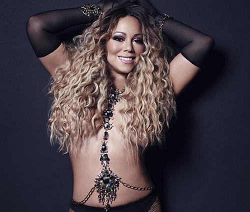 Internautas apontam que Mariah está bem mais esbelta em clique (Rep./Instagram)