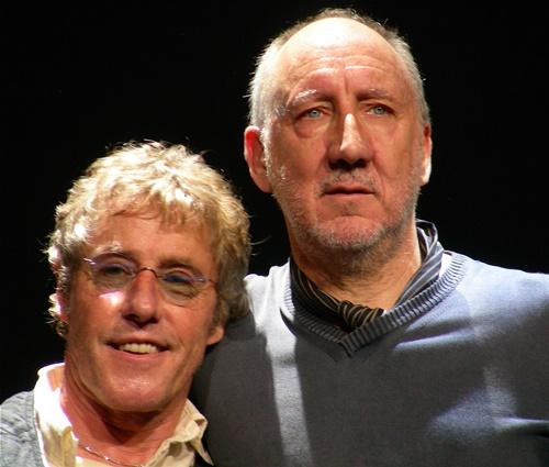 The Who foi única banda a exigir bebidas alcoólicas (Wikimedia)