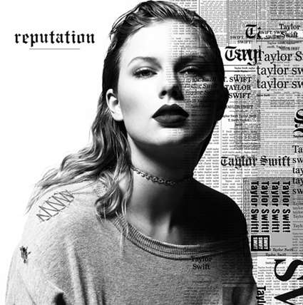 Capa de'Reputation', novo disco de Taylor Swift que contará com'Gorgeous'