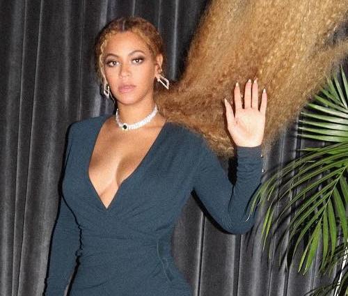 Beyoncé (foto) gravou dueto intitulado'Perfect' com Ed Sheeran (Rep./Instagram)