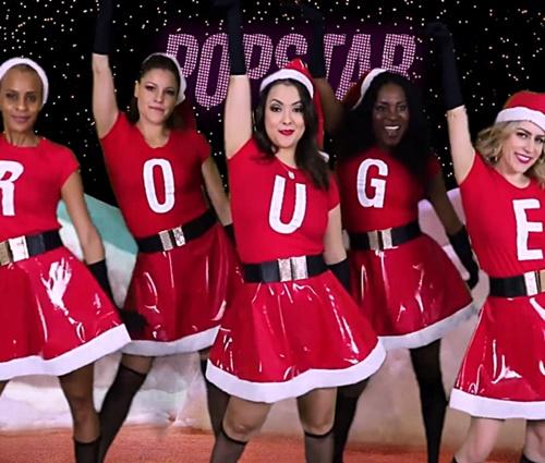 Rouge faz versão em vídeo de cena natalina de 'Meninas Malvadas'