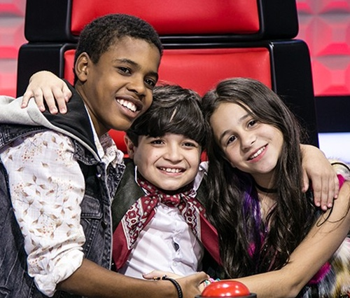 Juan foi finalista na edição de 2017, ao lado de Thomas e Valentina (Divulgação)