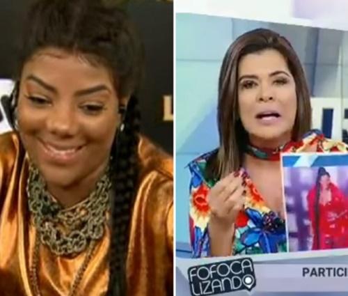 Cantora e apresentadora trocaram farpas por conta de looks (Reprodução/YouTube)