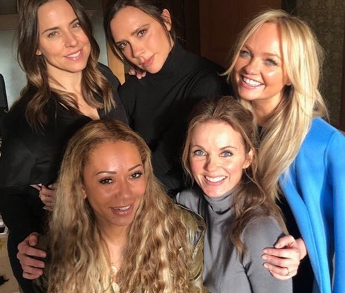 Atualmente, Spice Girls estão em processo de reunião (Reprodução/Instagram)