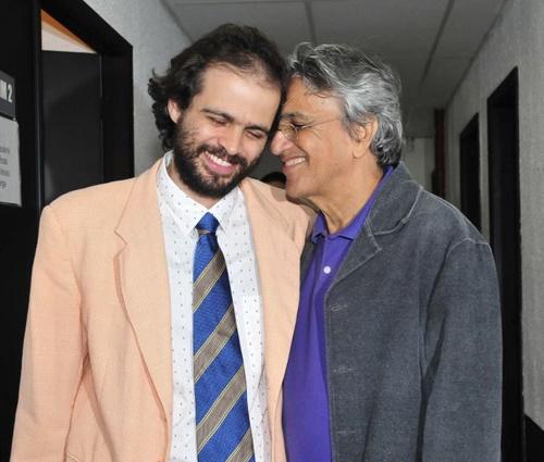 Música foi a 1ª parceria entre Caetano e seu filho mais velho, Moreno (Divulg.)