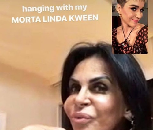 Imagem de bate-papo entre as duas foi publicada na web (Reprodução/Instagram)