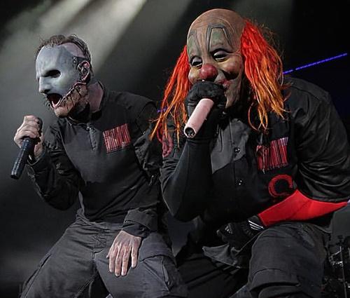 Vocalista diz que, se Clown quiser parar, ele também para (Reprodução/Pinterest)